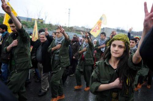 İstanbulda Nevruz kutlamaları