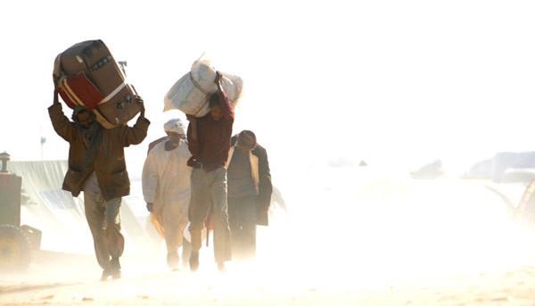 Libyadan kaçışın dramatik görüntüleri