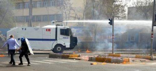 Diyarbakırda olaylı gün