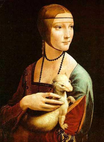 Da Vincinin ünlü tabloları