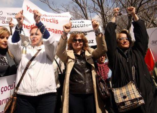 Bitmeyen şiddete protesto