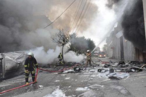 İzmirde korkutan patlama