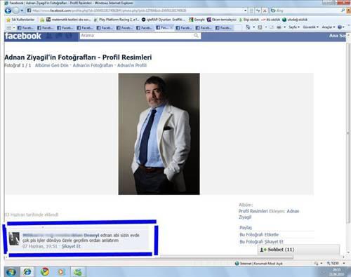 Yurdum insanı Facebookta!