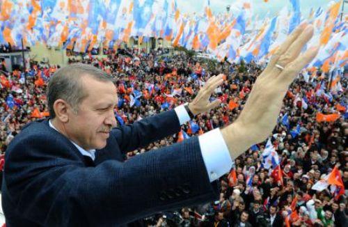 Erdoğanın Beykoz mitingi