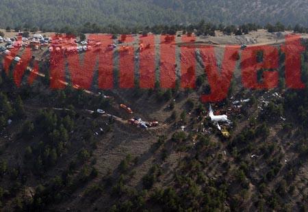 Ispartadaki uçak kazasını aydınlatacak kareler