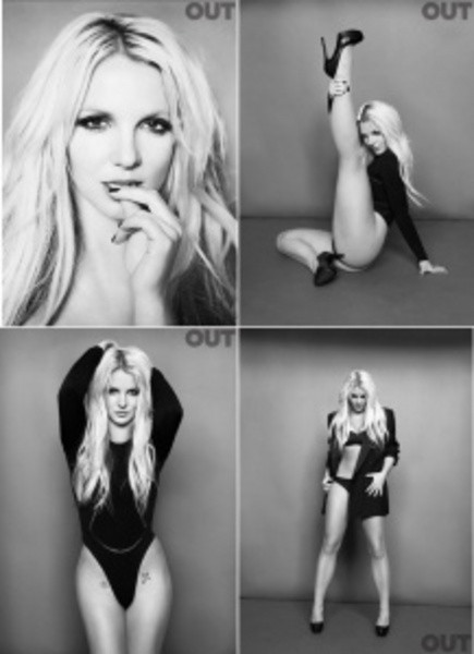 Britney kıskıvrak!