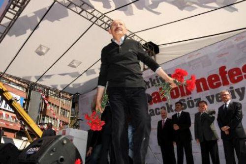 Kılıçdaroğlu Zonguldakta