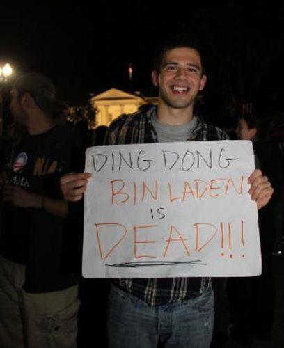 Bin Ladinin ölümü böyle kutlandı!