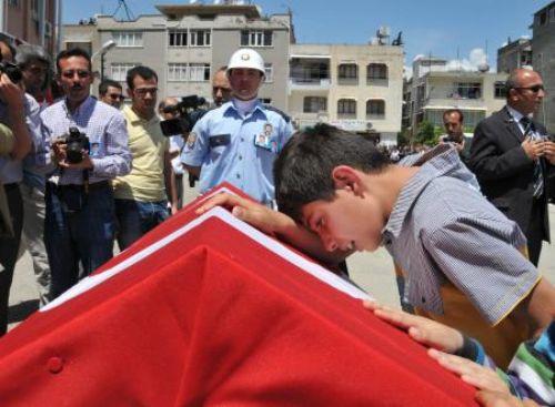 Şehit polislerin cenaze töreninden kareler