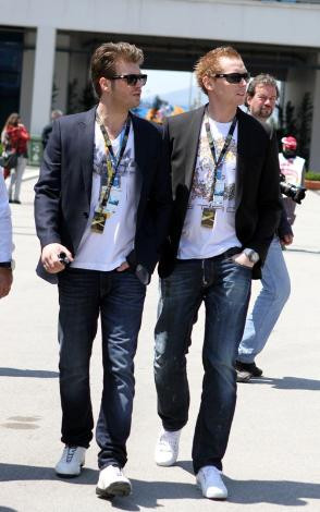 Formula 1 tutkunu ünlüler
