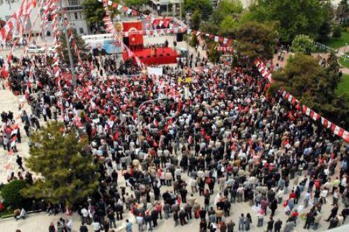 Kılıçdaroğlu Burdurda