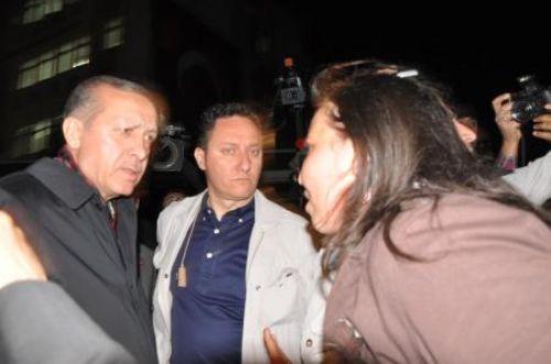Erdoğanı durdurup iş istedi