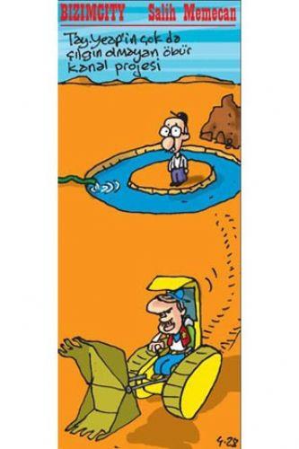Yılın anlamlı karikatürleri