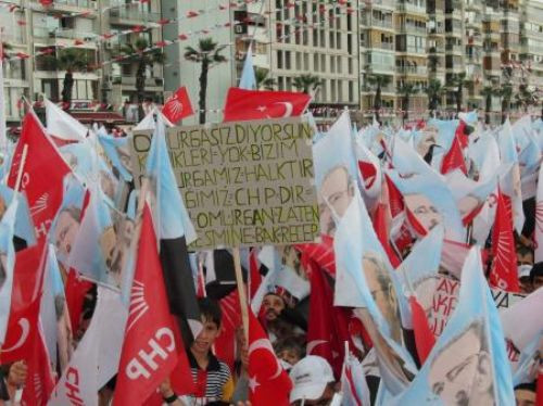 Kılıçdaroğlu İzmir mitinginde