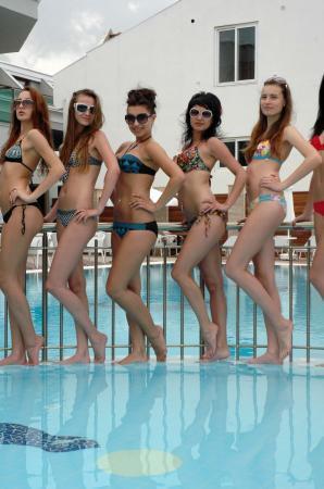 Ukraynalı güzeller yarışmaya hazır !