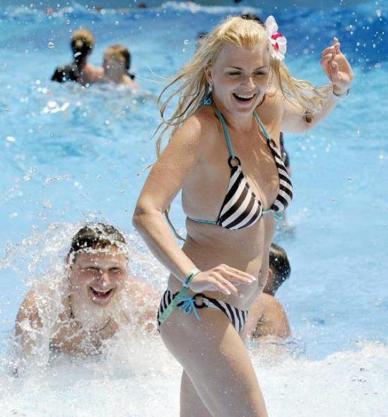 Fethiye sahillerine yaz geldi