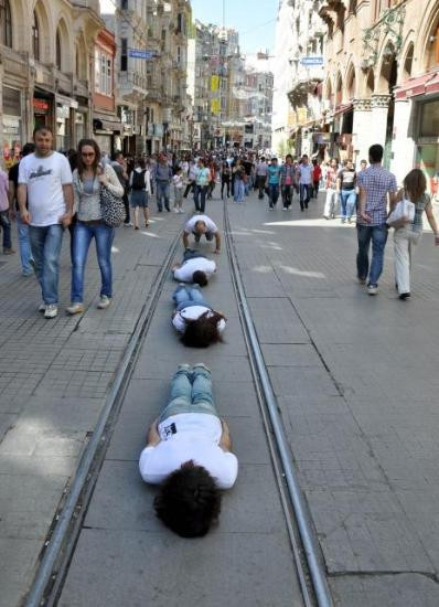 Haydarpaşa'ya planking!