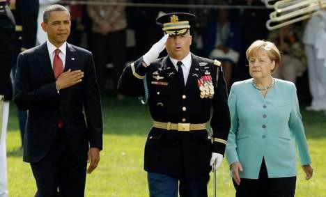 Merkel böyle düştü!