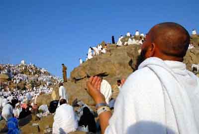 Kutsal ziyaretten çarpıcı fotoğraflar
