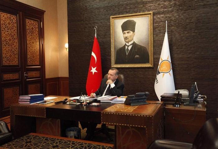 İşte Erdoğanın odası!