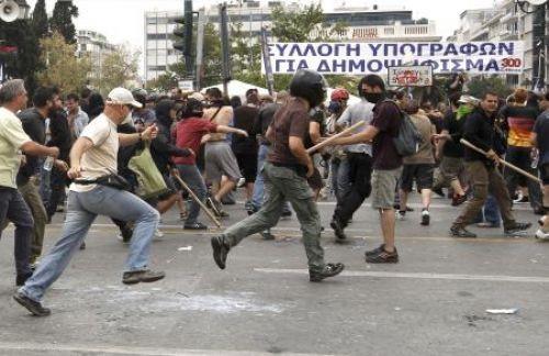 Yunanistan yine ayakta!
