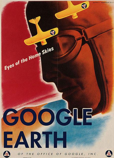 Modern şirketlerden vintage reklamlar !
