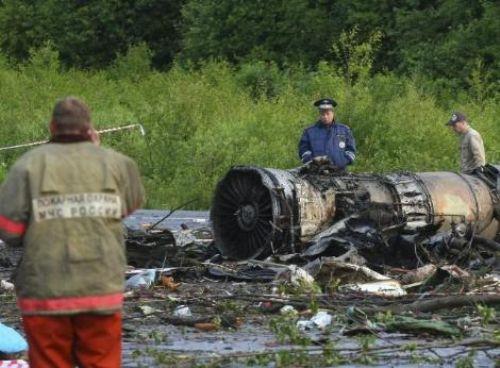 Rusyada uçak kazası !