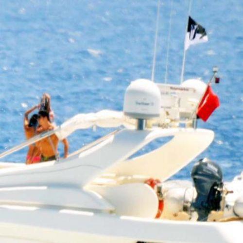 Ronaldo ve sevgilisi mavi turda