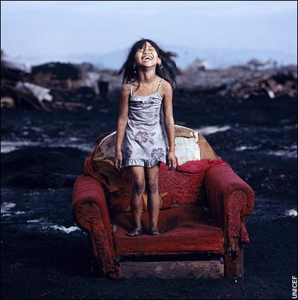 UNICEFten yılın fotoğrafları