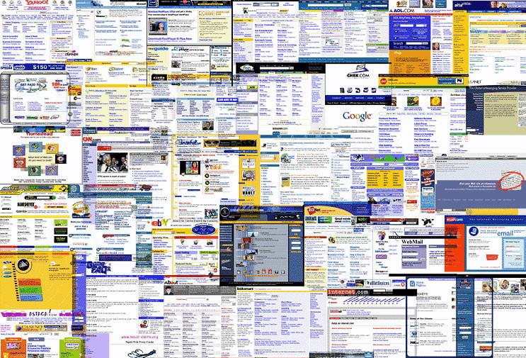 Nüfusu en kalabalık web siteleri