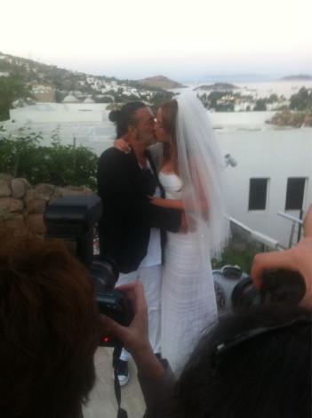 Ayşe Özyılmazel ile Ali Taran evlendi