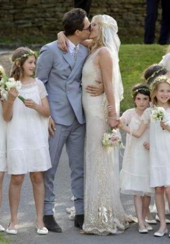 Böyle olur süper model düğünü