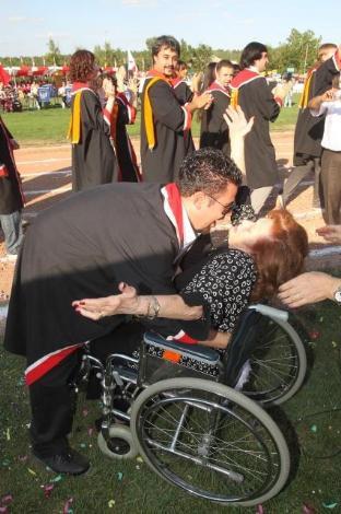 ODTÜde mezuniyet coşkusu !