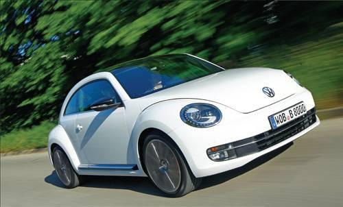 İşte yeni Volkswagen Beetle 2011
