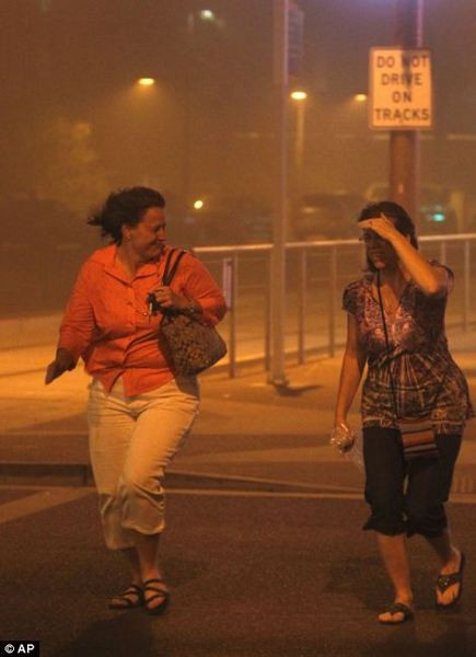 Toz fırtınası Arizona'yı vurdu
