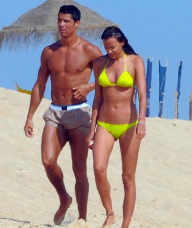 Ronaldo yine fena yakalandı