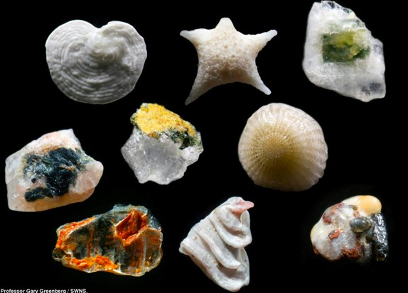Kum taneciklerine birazda yakından bakın