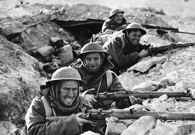 II. Dünya Savaşından görülmemiş kareler