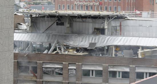 Osloda büyük patlama !