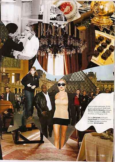 Victoria Beckham moda sayfalarında