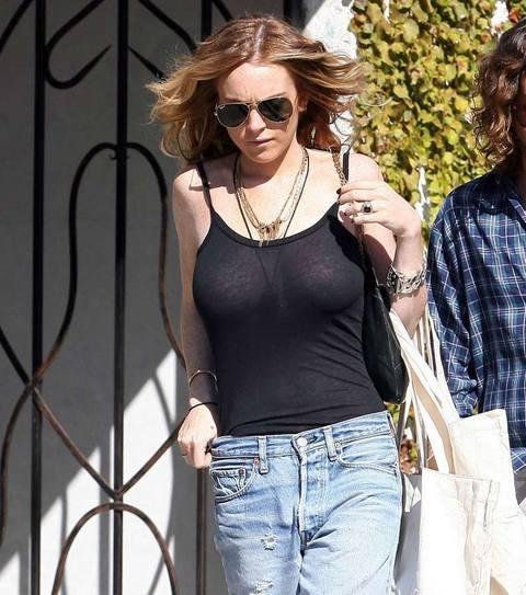 Lindsay Lohan bir türlü uslanmıyor !