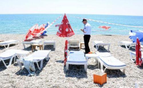 Antalyada plajda patlama !