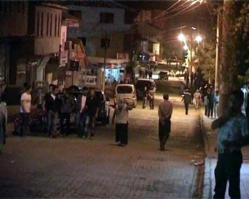 Keşif yapan PKKlılara gece baskını