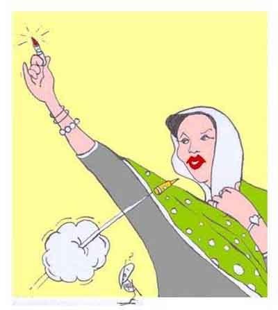 Çizgilerle Benazir Butto suikasti