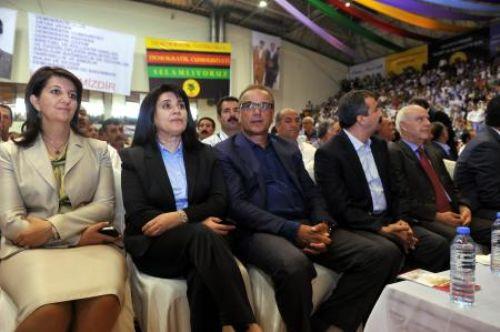 BDP kongresinden kareler