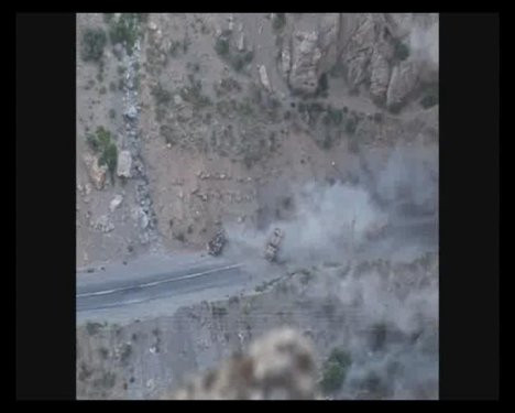 Çukurcadaki hain saldırı PKK kamerasında