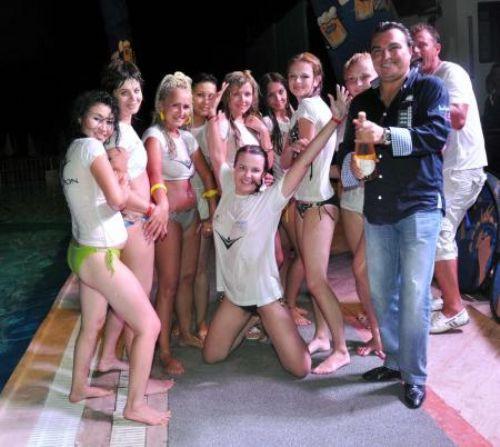 Antalyada çılgın yarışma !