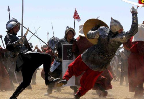 Muhteşem Yüzyılın savaş sahnesi