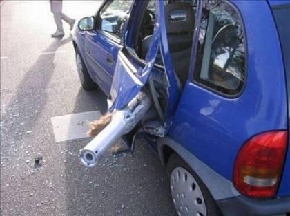 En ilginç kazalar !