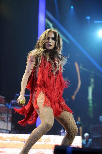 Jennifer Lopez Las Vegası salladı